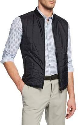 Salvatore Ferragamo Men's Reverse Quilted Vest