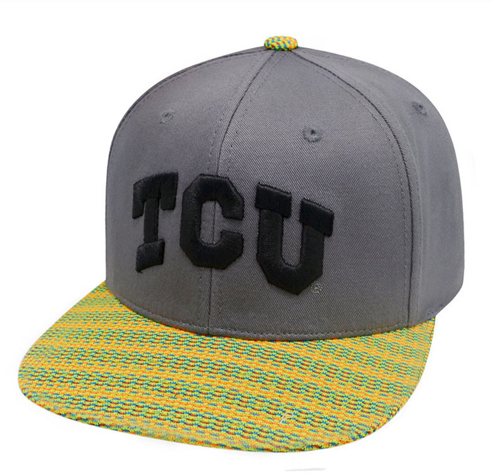 Top of the World Texas Christian Horned Frogs 2 Fly Snapback Cap