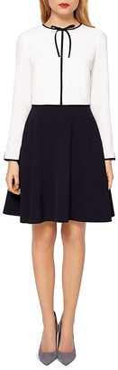 Ted Baker Loozy Tie-Neck Dress $265 thestylecure.com