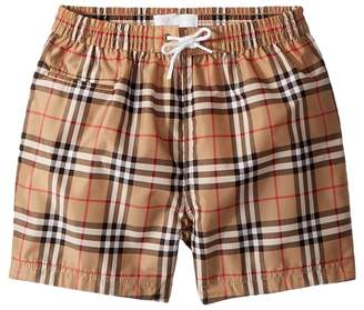 Burberry Galvin Check ACIMK Swimshorts