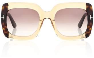 Tom Ford Helene oversized sunglasses