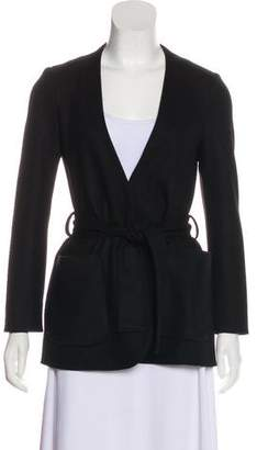 Calvin Klein Collection Open Front Wool Jacket
