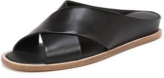 Vince Fairley Leather Wedge Sandal