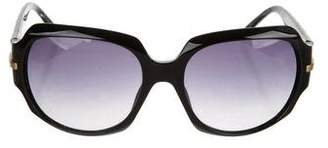 Christian Dior Quilted Oversize Sunglasses