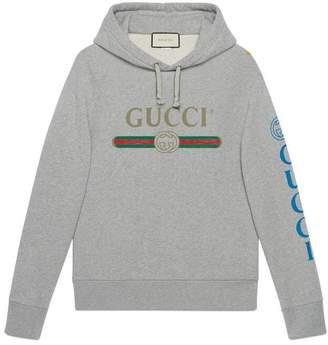Gucci Guccy cotton sweatshirt