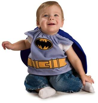 Rubie's Costume Co Baby Costume, Batman The Brave and The Bold Deluxe Bib, 0-9 Months