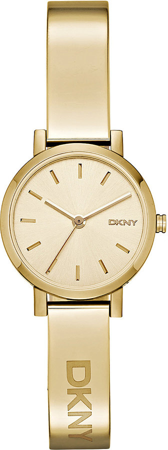 DKNY Dkny NY2307 Soho yellow gold-plated bracelet watch