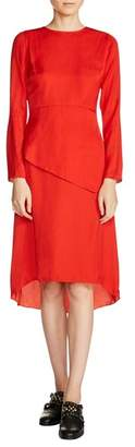 Maje Tiered A-Line Dress