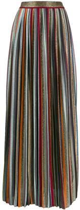Missoni pleated maxi skirt