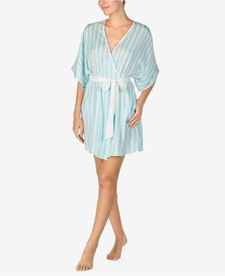 Betsey Johnson Embroidered Wifey Satin Robe