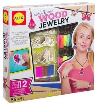 Alex Stitch Wear Wood Jewelry