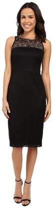Jessica Simpson Sleeveless Lace Midi Dress JS6D8548 Women's Dress