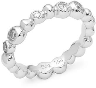 Michael Aram Women's Molten 18K White Gold & Diamond Ring