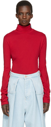 Gosha Rubchinskiy Red Fila Edition Turtleneck $90 thestylecure.com