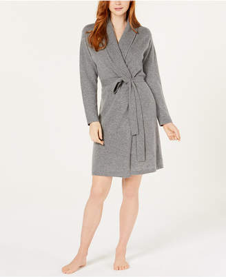 Charter Club Long Sleeve Cashmere Robe