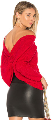Majorelle Cross Back Sweater