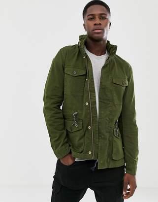 Scotch & Soda Classic Garment-Dyed Field Jacket