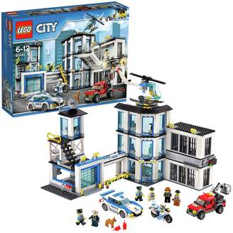 Lego City Police Station, Helicopter Car & Bike Toys