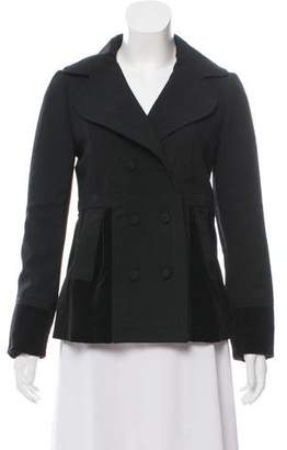 Marc by Marc Jacobs Wool Velvet-Trimmed Jacket