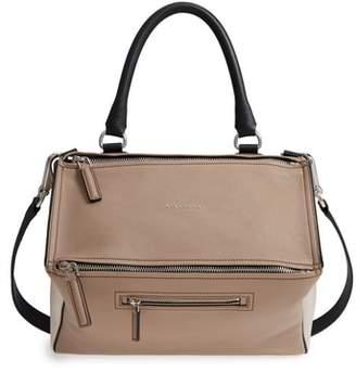 Givenchy Medium Pandora Box Tricolor Leather Crossbody Bag