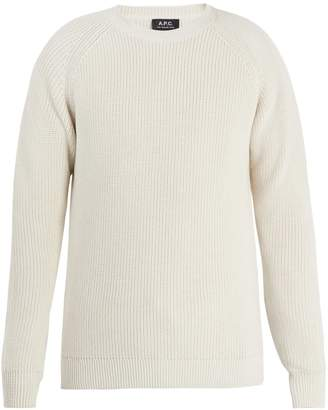 A.P.C. Moniteur cotton sweater