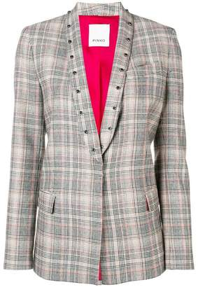 Pinko Prince of Wales check blazer