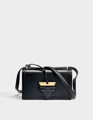 Loewe Barcelona Small Bag in Black Boxcalf