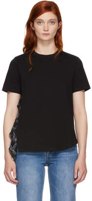 Opening Ceremony Black Plaid Mix T-Shirt