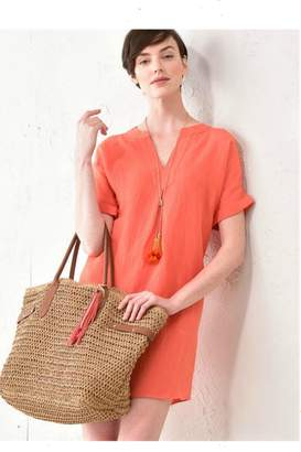 Paige Charlie Solid Orange Tunic