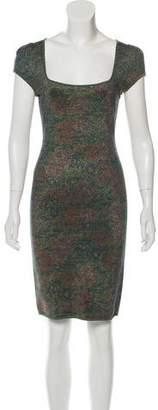 Zac Posen Floral Bodycon Dress w/ Tags