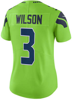 Nike Women Russell Wilson Seattle Seahawks Color Rush Limited Jersey