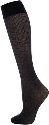 Wolford Lurex Net Knee High Socks