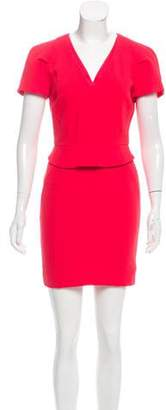 Reiss Peplum Sheath Dress