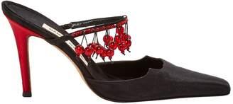 Manolo Blahnik Cloth heels