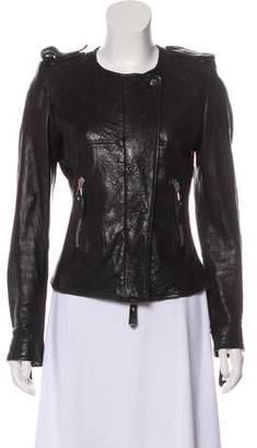 Isabel Marant Leather Zip-Up Jacket