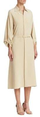 Ralph Lauren Collection Karen Silk Shirtdress