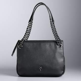 Vera Simply B Triple Entry Shoulder Bag