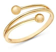 Moon & Meadow Beaded Band Ring in 14K Yellow Gold - 100% Exclusive