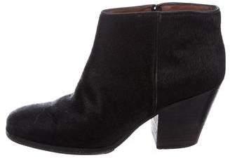 Rachel Comey Ponyhair Ankle Boots