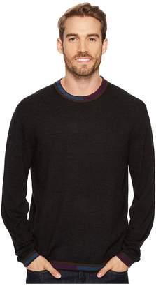 Robert Graham Cooperstown Long Sleeve Sweater Crew Neck Men's Sweater