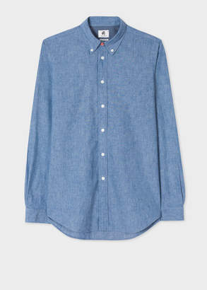 Paul Smith Men's Tailored-Fit Chambray Shirt