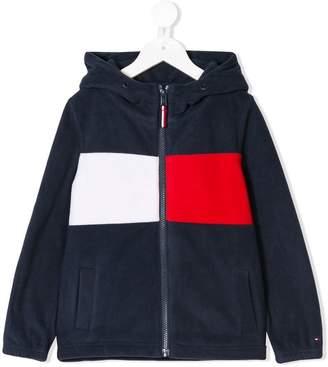 Tommy Hilfiger Junior color-block polar hoddie