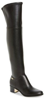 Women's Calvin Klein Carli Water Resistant Over The Knee Boot $198.95 thestylecure.com