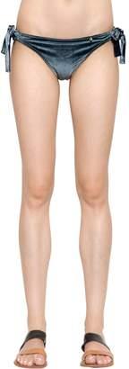 Shelby Grisaille Velvet Bikini Bottoms