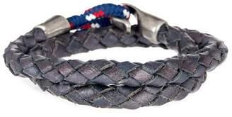 März The Zeitgeist Band Leather & Nylon Bracelet
