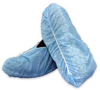 McKesson Shoe Cover X-Large Shoe-High Non-Skid Blue Nonsterile Case of 100