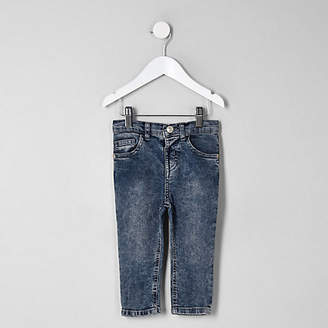 River Island Mini boys acid wash denim Sid jeans