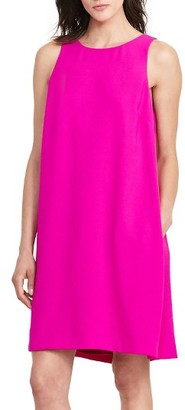 Women's Lauren Ralph Lauren Pleat Back Dress $145 thestylecure.com