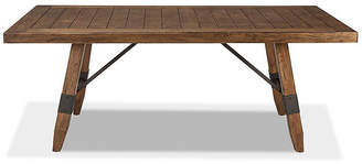 Asstd National Brand River Dining Rectangular Trestle Table