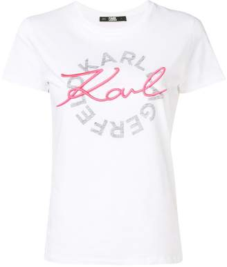 Karl Lagerfeld Paris classic logo T-shirt